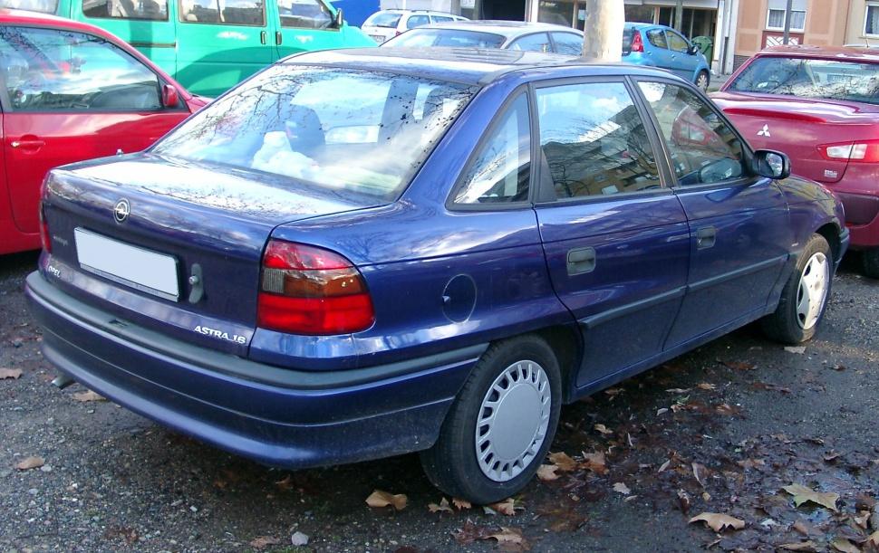 Opel Astra 1 6 16v Ecotec Specs